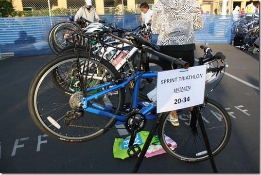 triathlon set up