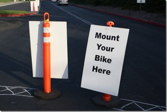 mount your bike