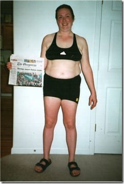 Copy of before thumb Weight Loss Wednesday   Cara