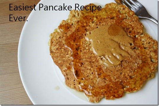 easiest pancake recipe