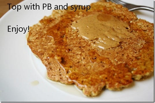 pb on pancake