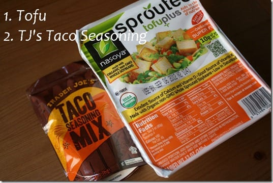 two ingredients thumb Mexican Meatless Monday– Two Ingredient Taco Recipe