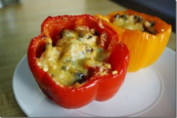 Meatless Stuffed Peppers Recipe