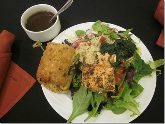 fitbloggin lunch