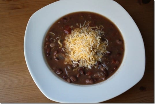 IMG 7793 800x533 thumb CrockPot Black Bean Soup Recipe