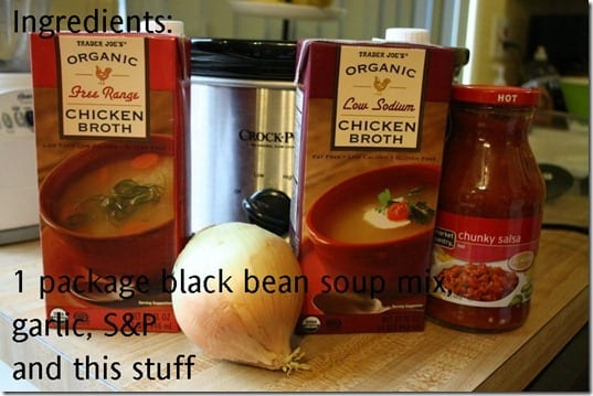 black bean soup ingredients thumb CrockPot Black Bean Soup Recipe