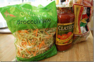 Ground Turkey Broccoli Slawghetti Crock Pot Recipe