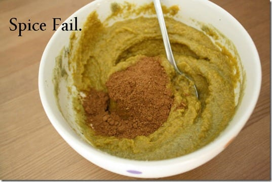 spice fail thumb Pumpkin Protein Pudding Recipe