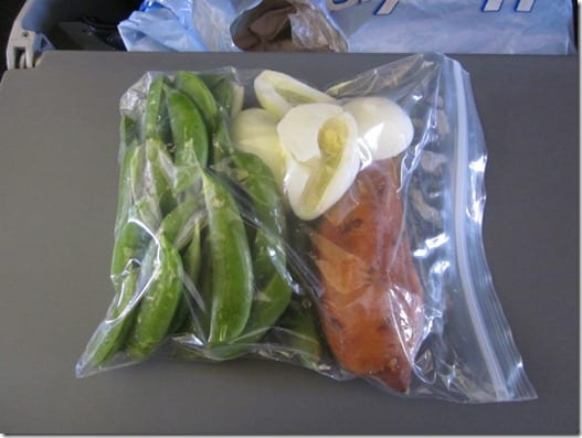 clean eating bag food