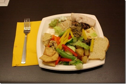 lunch at sabra