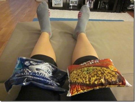 ice your knee