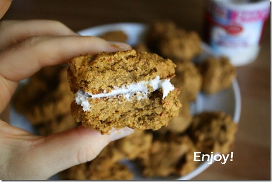 enjoy pumpkin cookies recipe with canned pumpkin and cake mix