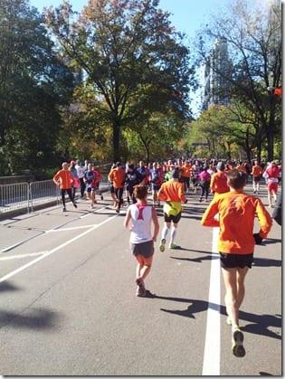 new york marathon 2012