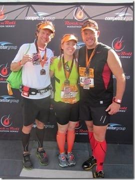 la half marathon