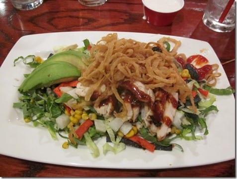 red robin salad