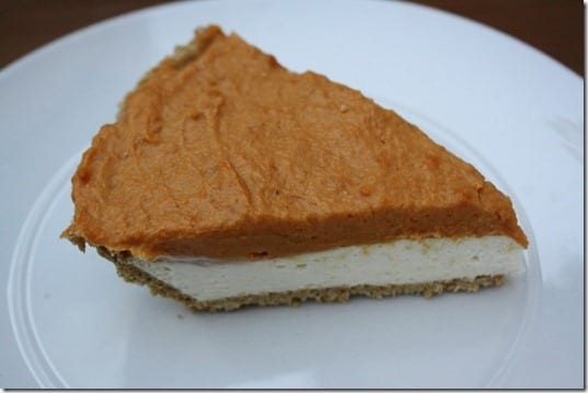 IMG 9282 800x533 thumb No Bake Pumpkin Cheesecake Recipe
