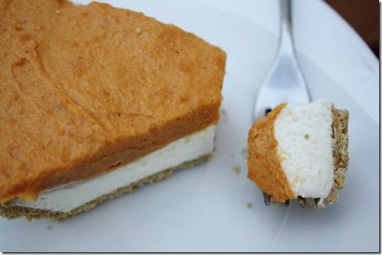 IMG 9291 800x533 thumb No Bake Pumpkin Cheesecake Recipe