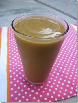 Pumpkin Protein Smoothie