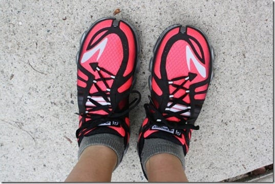 brooks pure flow pink