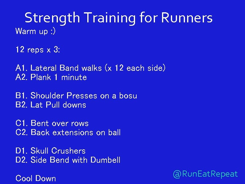 Runners Workout