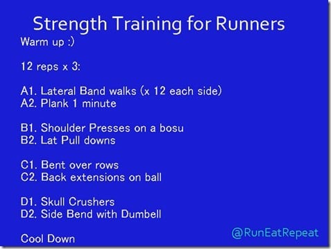 Runners workout thumb Strength Training After a Marathon