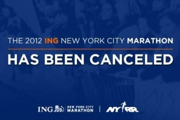 The New York City Marathon is Cancelled