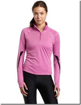 long sleeve running pullover