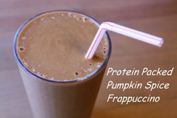 Pumpkin Spice Frap Recipe