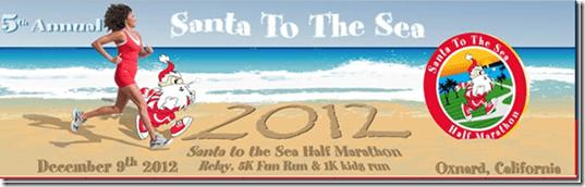 santa to the sea half marathon