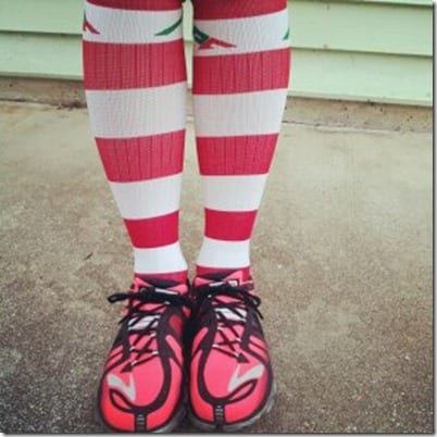 procompression stripe socks