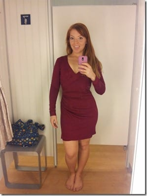 christmas dress shopping