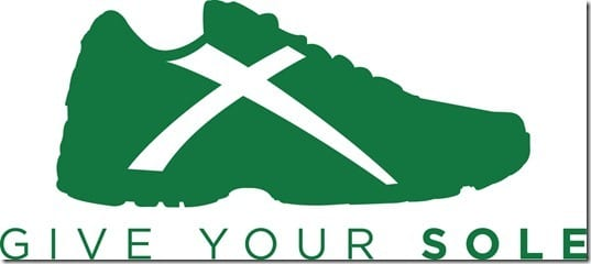 Give your sole running shoe donation