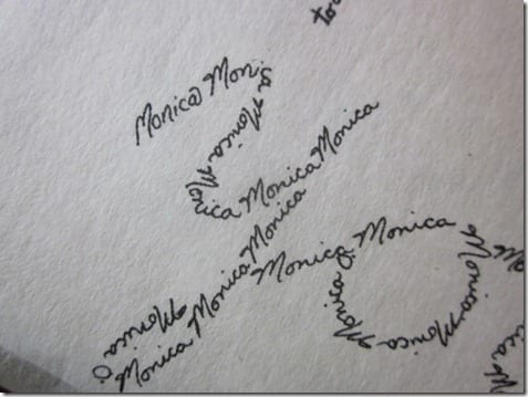 present name tag