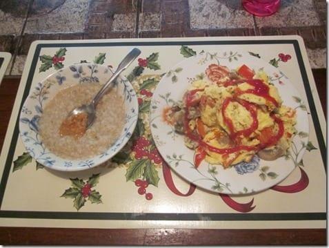 post run breakfast