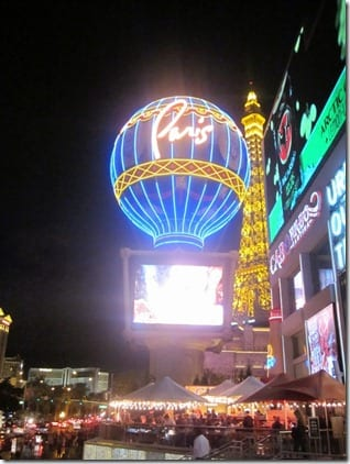 paris las vegas running