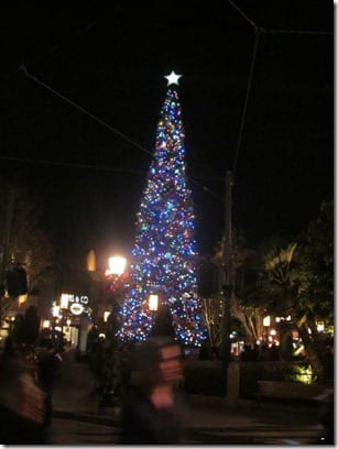 California adventure tree