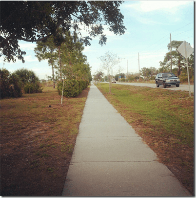 florida sidewalk