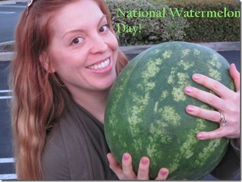 national watermelon day thumb Three Things Thursday–Eating and Pictures