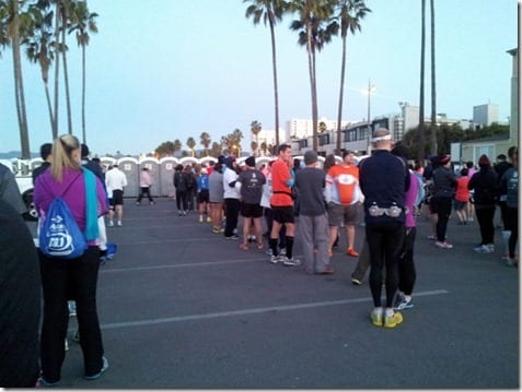los angeles half marathon race review