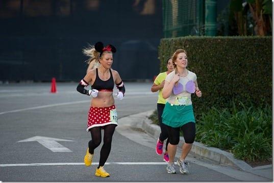 ariel running costume