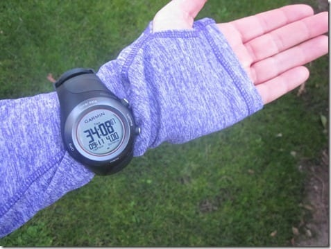garmin on sleeve