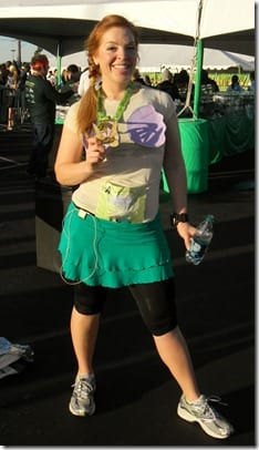 after tinkerbell half marathon 12 thumb RunDisney–Make an Ariel Running Costume