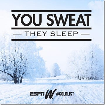 you sweat they sleep thumb Monday Motivation For Working Out