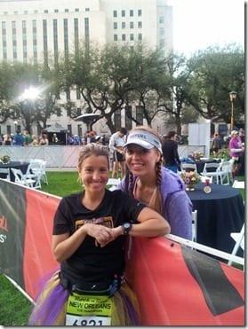 pre race RnR New Orleans Marathon