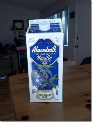 trader joes almond milk
