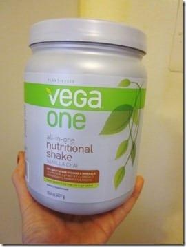 vega vanilla chai protein powder