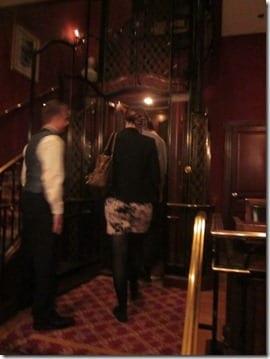 club 33 elevator walt disney
