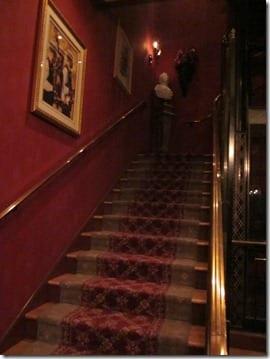 secret club 33 lobby inside Disneyland