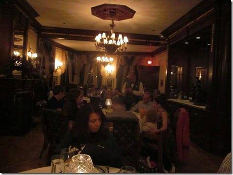five star restaurant inside Disneyland
