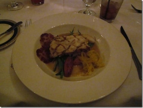 King Crab Stuffed Maine Lobster at Club33